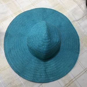 Lovely blue floppy hat